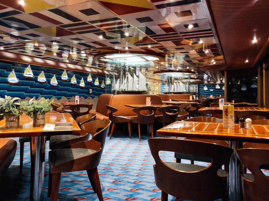 ristorante nave costa crociere