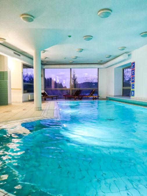 hotel bled slovenia con piscina