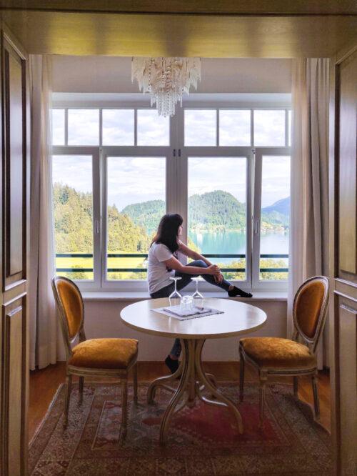 Hotel Triglav Bled: albergo con vista sul lago di Bled