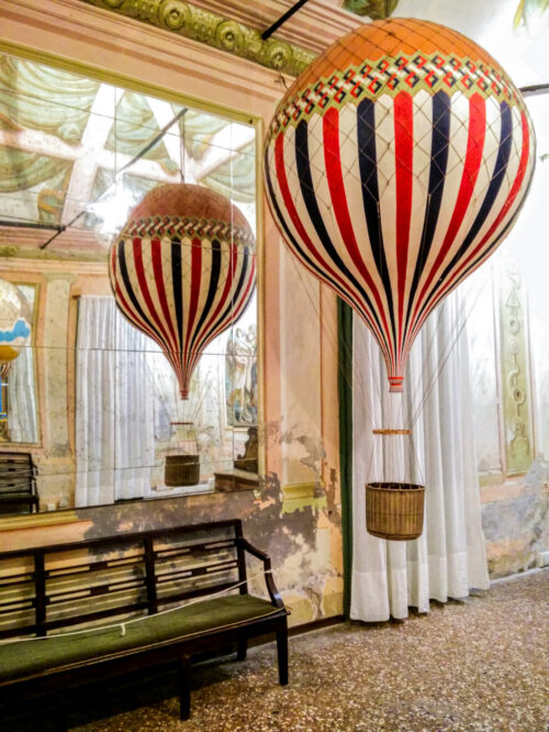 Castello di San Pelagio: visita al Museo del Volo 2.0