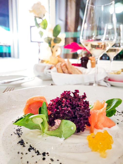 esempio piatto menu ristorante 1906 hotel triglav bled