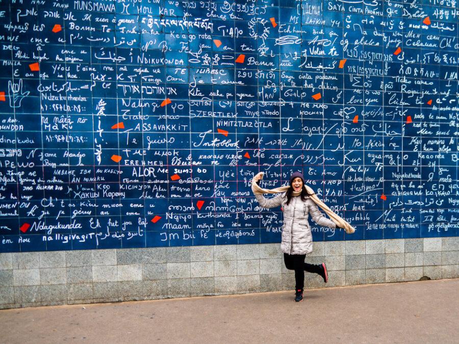 muro dei ti amo parigi