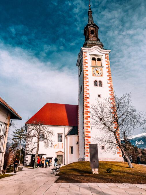chiesa di santa maria assunta isola di bled