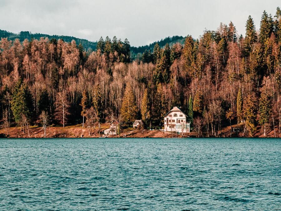 giro del lago di bled a piedi