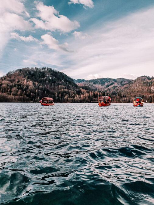 pletna al lago di bled slovenia